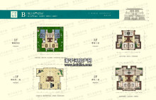 别墅B户型:327平米